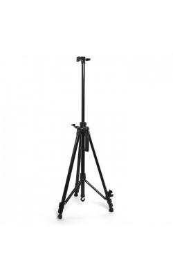 Мольберт телескопический (тренога) металл с уровнем, ручкой, компасом