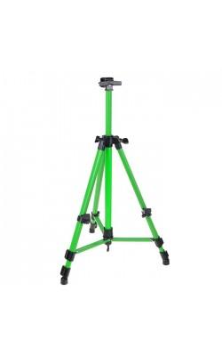 Мольберт телескопический (тренога) металл, зеленый