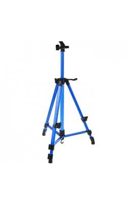 Мольберт телескопический (тренога) металл, синий