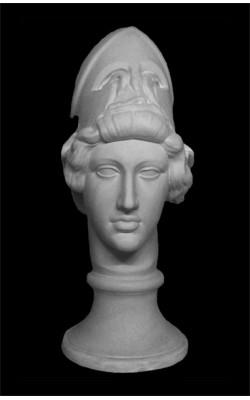 Голова Афины Мирона, гипс