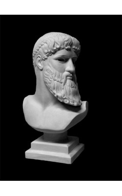 Бюст Зевса-Посейдона, гипс