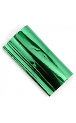 Поталь трансферная, 21*80 см, зеленый металлик