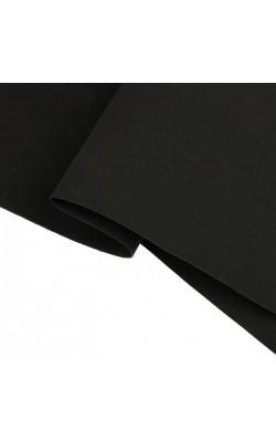 Фоамиран  50х50 см, 1 мм  цв.чёрный