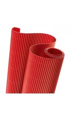 """Гофрокартон """"Canson"""", 50*70 см, 314 г/м2, красный яркий №6, 1 л"""