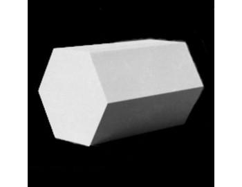 Призма шестигранная, гипс