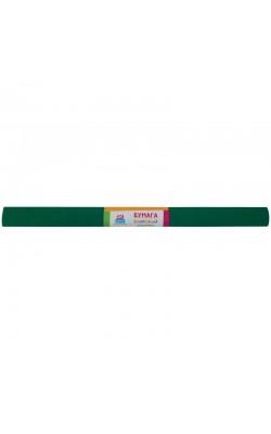 Бумага крепированная ArtSpace зеленая, в рулоне 50*200см, 30г/м2