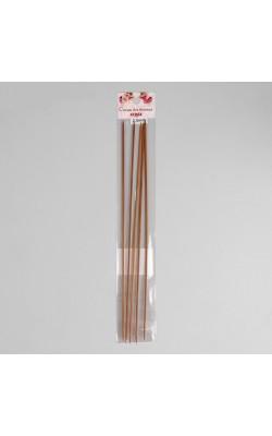 Спицы для вязания чулочные, сталь, 25см d=2,0мм (5шт)