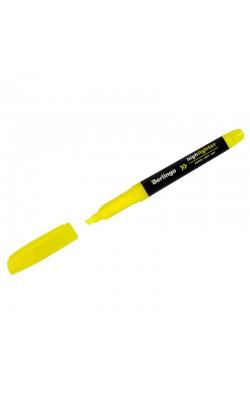 """Текстовыделитель """"Berlingo"""" Textline HL400, жёлтый, 0,5-4 мм"""