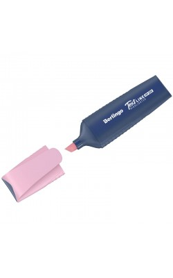 """Текстовыделитель """"Berlingo"""" Textline HP200, пастельный цвет, фламинго, 1-5 мм"""