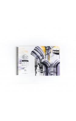"Скетчбук для маркеров ""Млевичъ"" Sketch, 30*21 см, 75 г/м2, 80 л"