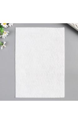 Фетр, 1 мм, А4, белый, 1 л