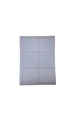 Бумага тренировочная для каллиграфии и леттеринга, 22,8*44,2 см, многоразовая, серая