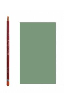 """Пастельный карандаш """"Derwent"""" Pastel, зеленый оливковый темный, №P520, круглый, 1 шт"""