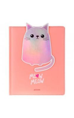 "Дневник 1-11 кл. 48л. (твердый) ""I meow you"""