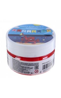 Паста для лепки полимерная самоотверждающаяся Artifact, красная
