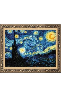 """Набор для вышивания крестом """"Ван Гог """"Звёздная ночь"""", 40*30 см"""