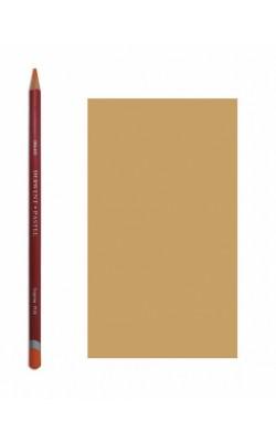 """Пастельный карандаш """"Derwent"""" Pastel, рыжевато-коричневый, №P570, круглый, 1 шт"""