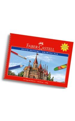 """Блокнот для рисования """"Faber-Castell"""", 25*35 см, 120 г/м2, 15 л"""