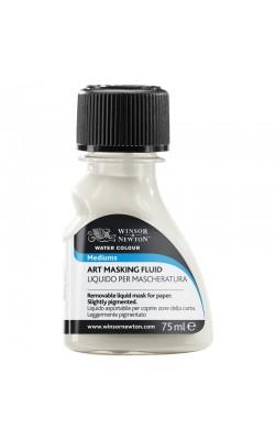 """Маскирующая жидкость для акварели """"Winsor&Newton"""", бесцветная, 75 мл, стеклянный флакон"""
