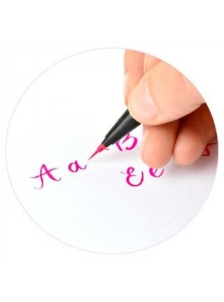 """Фломастер-кисть """"Pentart"""" Brush Sign Pen Artist, ultra-fine, красный"""